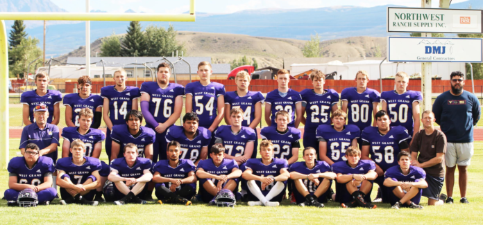 photo by Emmylou Harmon The 2021 Football Team coached by Chris Brown, Josh Pedersen and Fernando Enriquez.